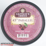 Captain's Choice 45th Parallel Shaving Soap - Above the Tie