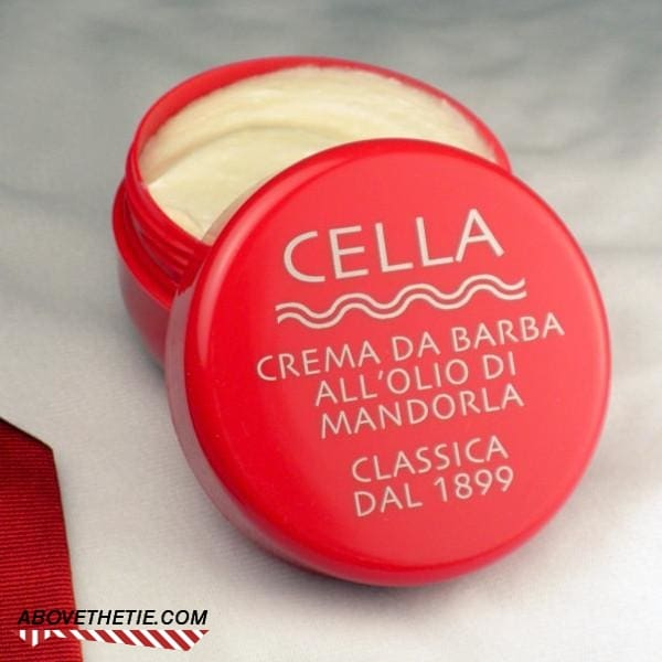 Cella Shaving Cream Sweet Almond - Above the Tie