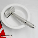 Colossus G1 - Gem Stainless Steel Safety Razor - Above the Tie