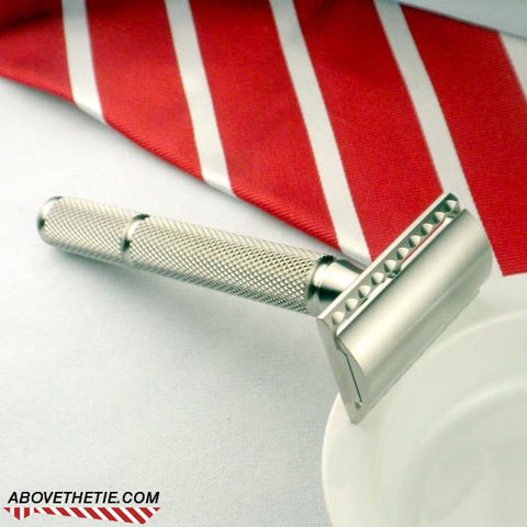 Colossus M1 - Stainless Steel Safety Razor - Above the Tie