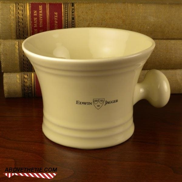 Edwin Jagger Ivory Porcelain Mug with Knob - Above the Tie