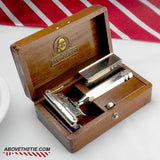 Ever-Ready SE Safety Razor and Case - Above the Tie