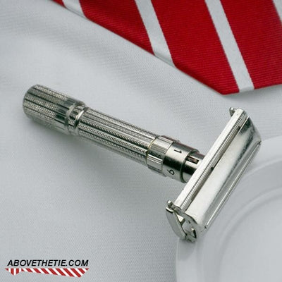 Gillette Fat Boy Safety Razor E-4 1959 - Above the Tie