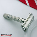 Gillette Fat Boy Safety Razor G-1 1961 - Above the Tie
