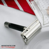 Gillette Flare Tip Safety Razor & Case T-2 1973 - Above the Tie