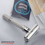 Gillette Slim Adjustable Safety Razor & Case K-2 1965 - Above the Tie
