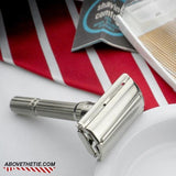 Gillette Slim Adjustable Safety Razor & Case K-4 1965 - Above the Tie