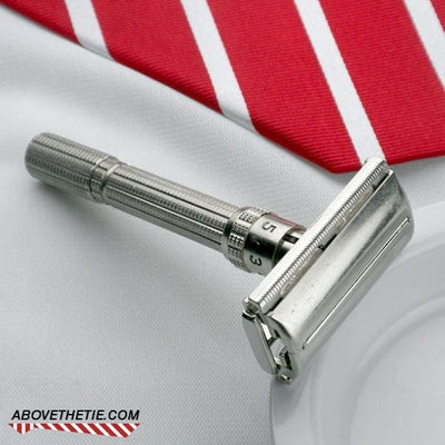 Gillette Slim Adjustable Safety Razor G-4 1961 - Above the Tie
