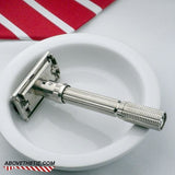 Gillette Slim Adjustable Safety Razor L-4 1966 - Above the Tie