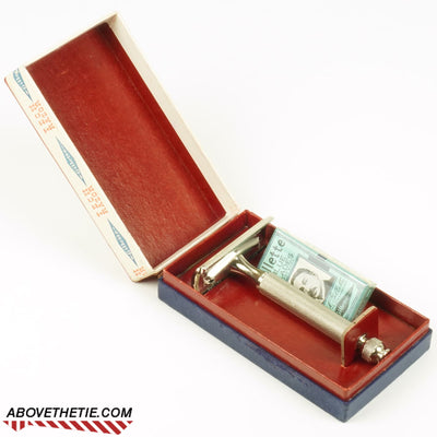 Gillette Tech 1940s with Original Case - Above the Tie