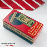 Gillette Tech 1950's with Original Box - Above the Tie