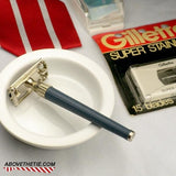 Gillette Twist with Case and NOS Blades - Above the Tie