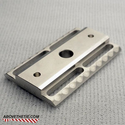 H1 - Stainless Steel Safety Razor Base Plate - Above the Tie