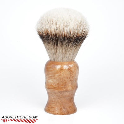 Handmade 24mm Silver Tip Badger Shaving Brush - Above the Tie