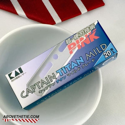 KAI Captain Titan Mild Blade 20-Pack - Above the Tie