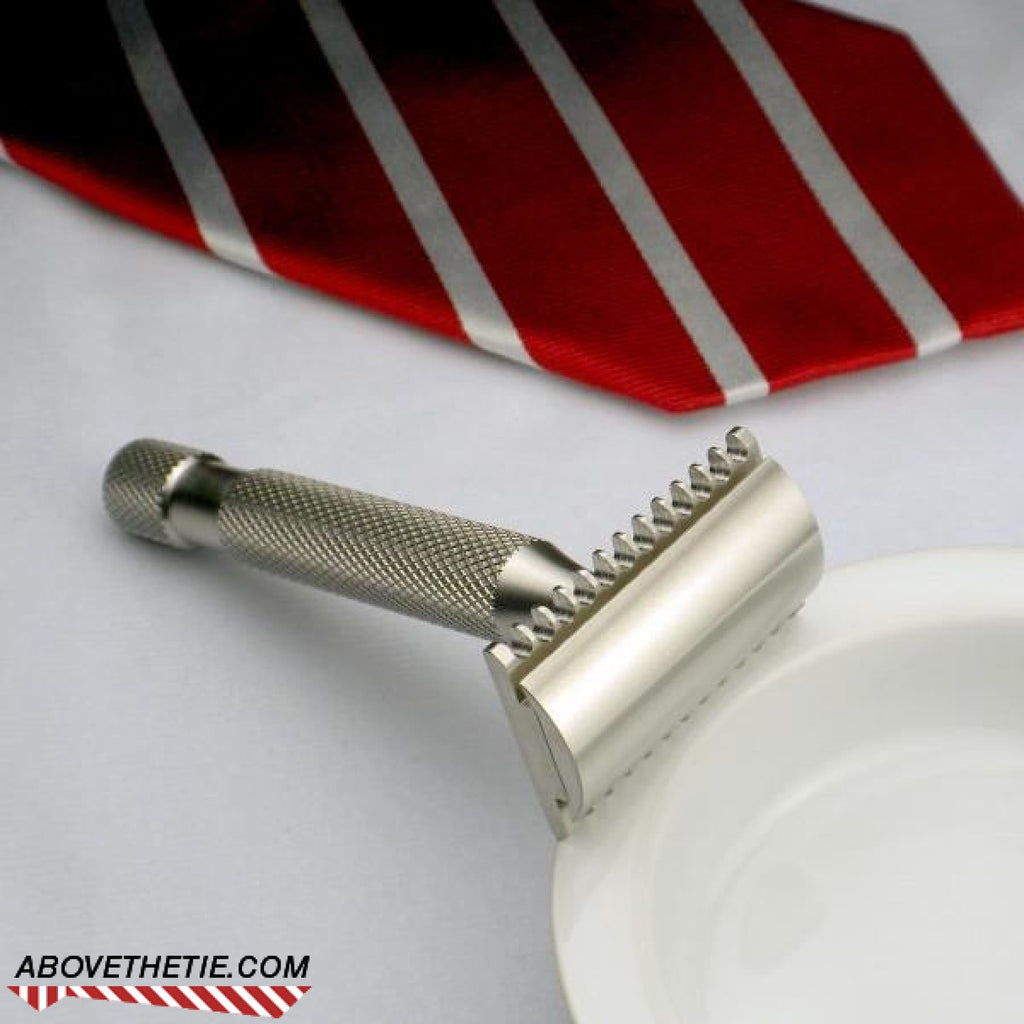 Kronos R2 - Stainless Steel Safety Razor - Above the Tie