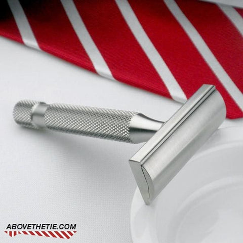 Kronos SE1 Single Edge - Stainless Steel Safety Razor - Above the Tie