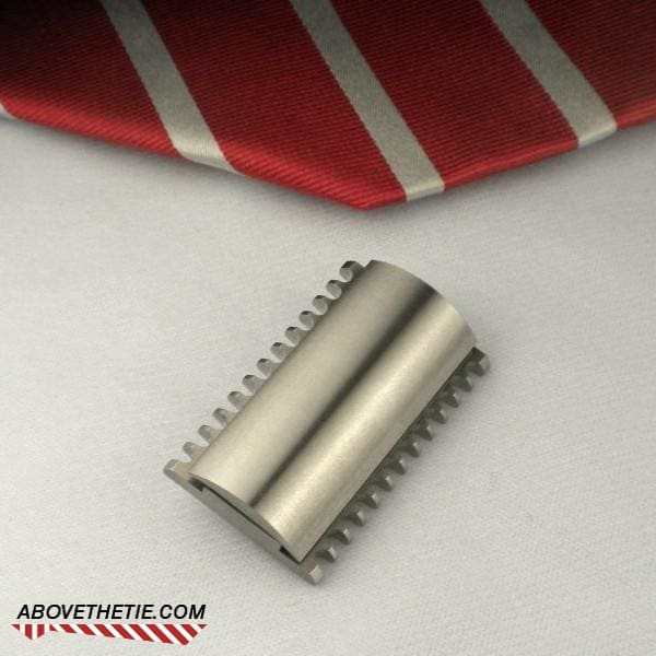 M2 Open Comb - Stainless Steel Safety Razor Head - Above the Tie