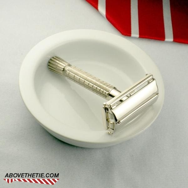 Nickel English Gillette Flare Tip - Above the Tie