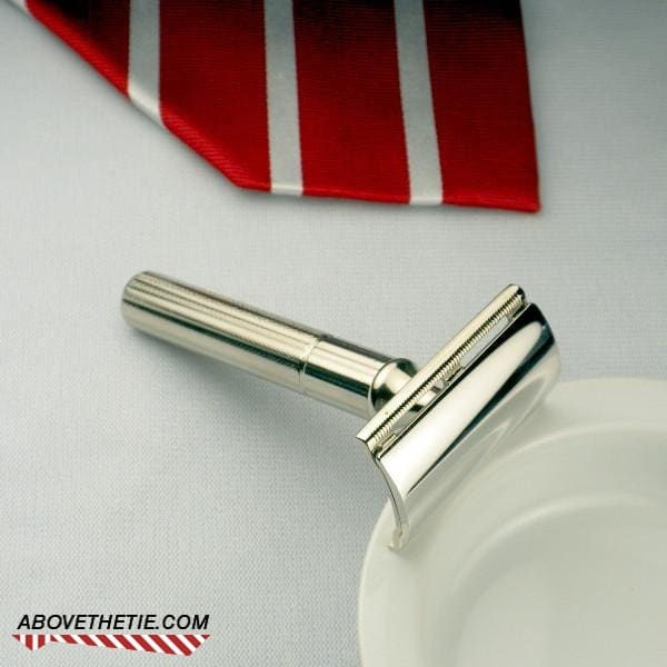 Nickel Gillette Fat Handle Tech - Above the Tie