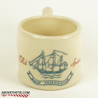 Old Spice Potter Shaving Mug 1941-1944 - Above the Tie