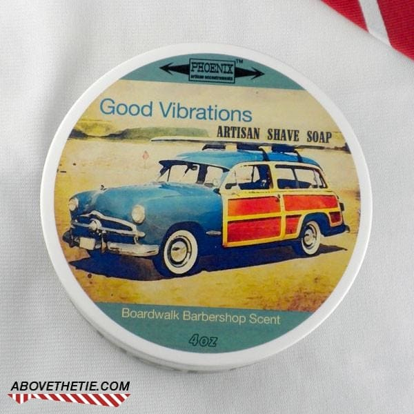 Phoenix Good Vibrations Artisan Shave Soap - Above the Tie