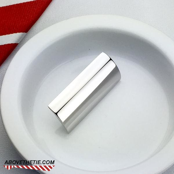 Polished Stainless Cap Used - Above the Tie