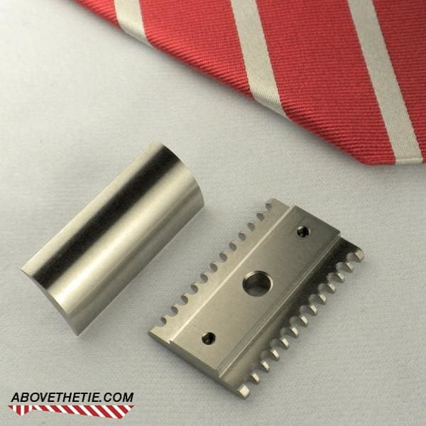 R2 Open Comb - Stainless Steel Safety Razor Head - Above the Tie