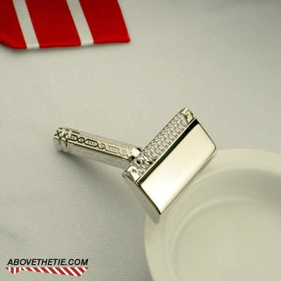 Rhodium Ever-Ready SE Travel Razor - Above the Tie