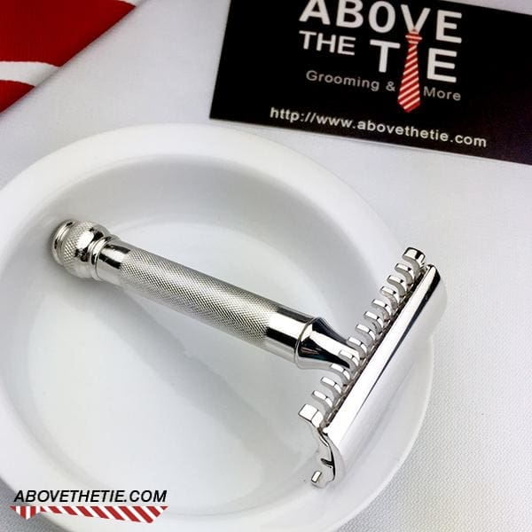 Rhodium Gillette Ball Tip Old Type - Above the Tie