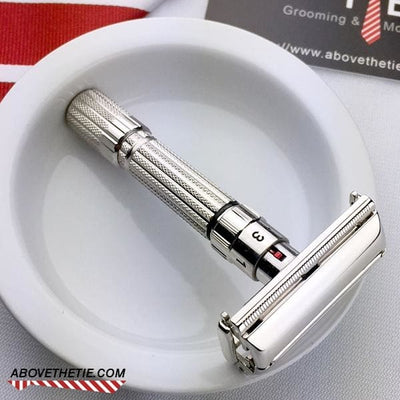 Rhodium Gillette Fat Boy - Above the Tie