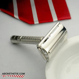 Rhodium Gillette Flare Tip Super Speed - Above the Tie