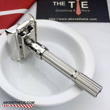 Rhodium Gillette Slim Adjustable - Above the Tie