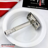 Rhodium Gillette Super Speed - Above the Tie