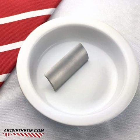 Satin Stainless Cap Used - Above the Tie