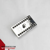 SSR1 - Polished Stainless Steel Safety Razor Head - Above the Tie