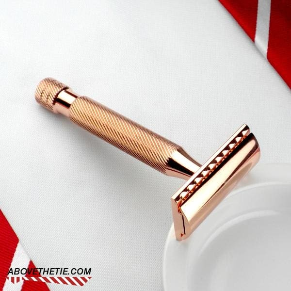 Windsor CR1 - Copper Safety Razor - Above the Tie