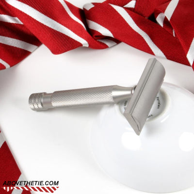 Windsor SE1 - Satin Stainless Steel Single Edge Safety Razor - Above the Tie