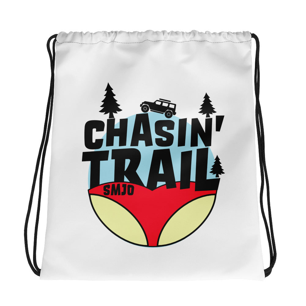 Chasin Trail Drawstring bag