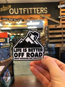 Life Is Better Off-road Decal