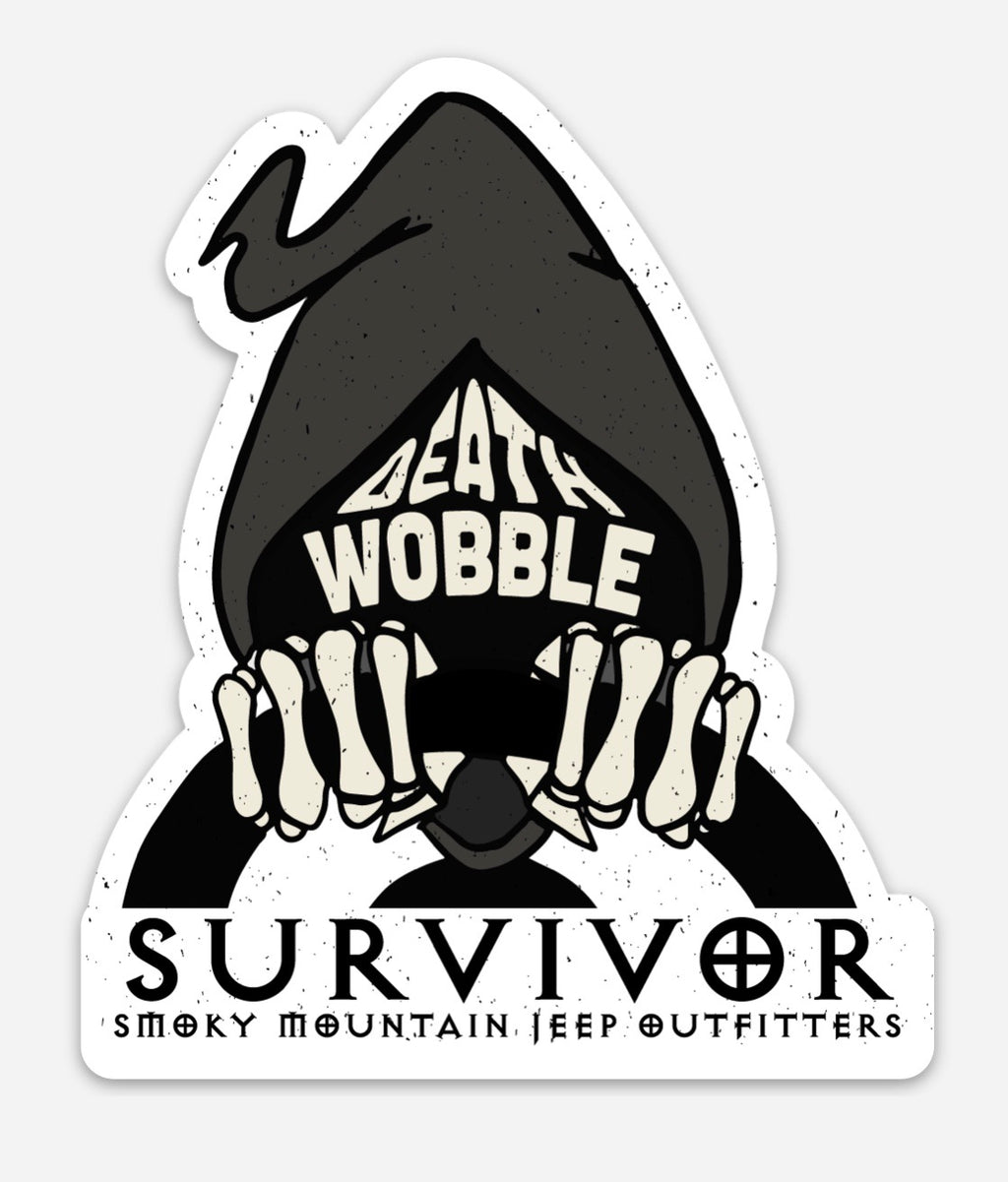 DEATH WOBBLE SURVIVOR DECAL