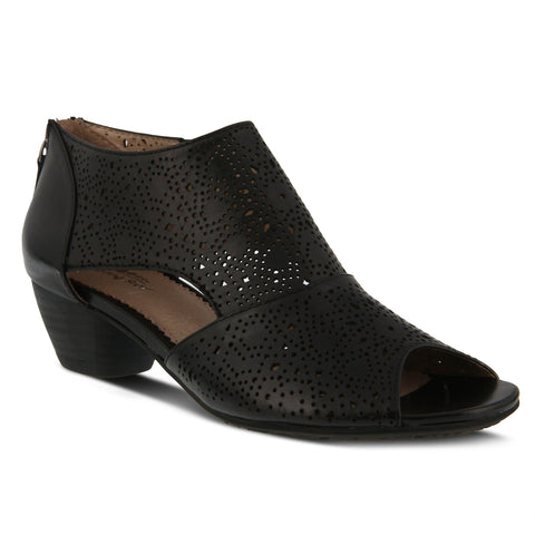 Best Selling WoMenpring Step Alya Bootie Black Leather Canada popular shoes