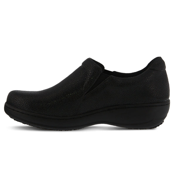 b9526aea89a BLACK PEBBLES BELO PEBBLES SLIP-ON SHOE by SPRING STEP PROFESSIONAL – Spring  Step Shoes