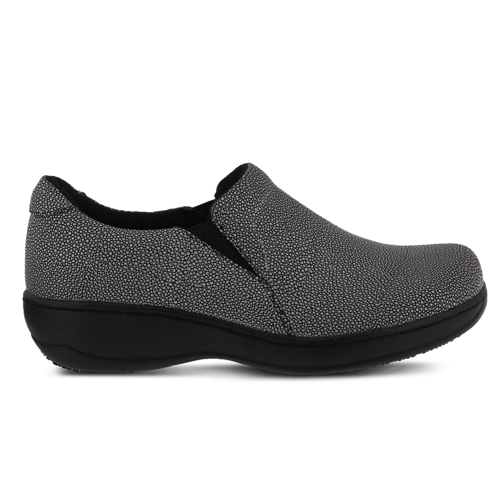 e3a015d26ae BLACK PEBBLES BELO PEBBLES SLIP-ON SHOE by SPRING STEP PROFESSIONAL ...