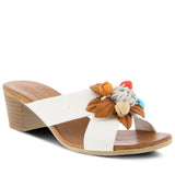 BOUQUET SLIDE SANDAL