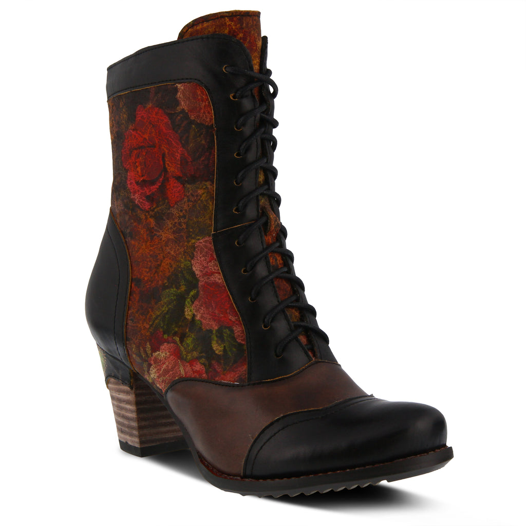 152ab76599a BLACK MULTI CHARMING BOOT by L ARTISTE – Spring Step Shoes