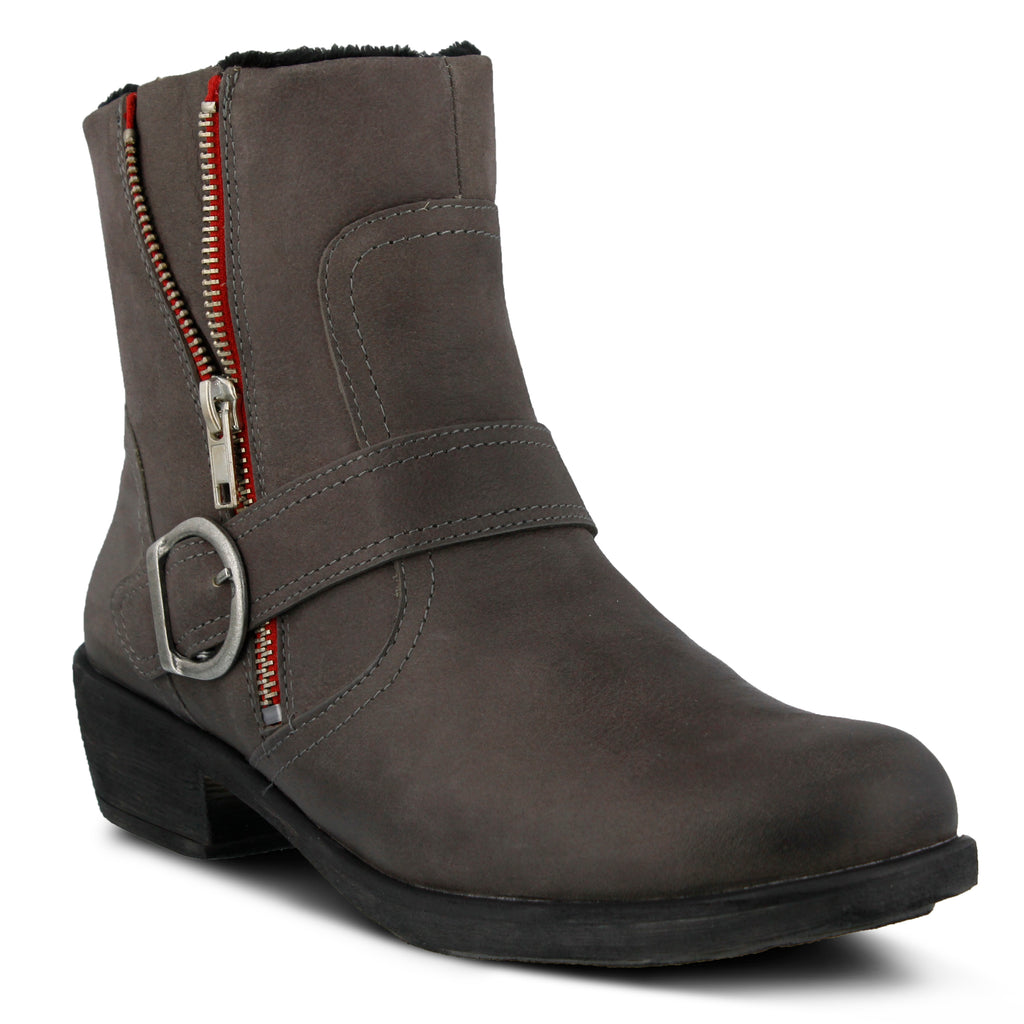 Spring Step Womens Gray Boots Chickadee