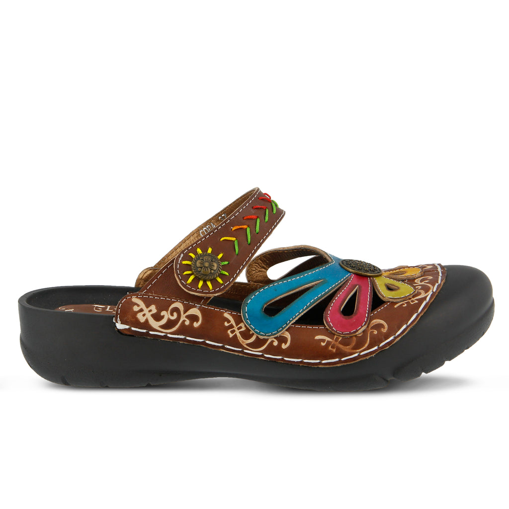 9cb65870941f BLUE MULTI COPA CLOG by L ARTISTE – Spring Step Shoes