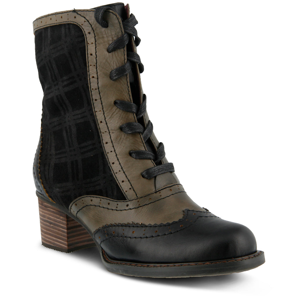L'Artiste by Spring Step Charming Lace Up Boot (Women's) fbJdMXH