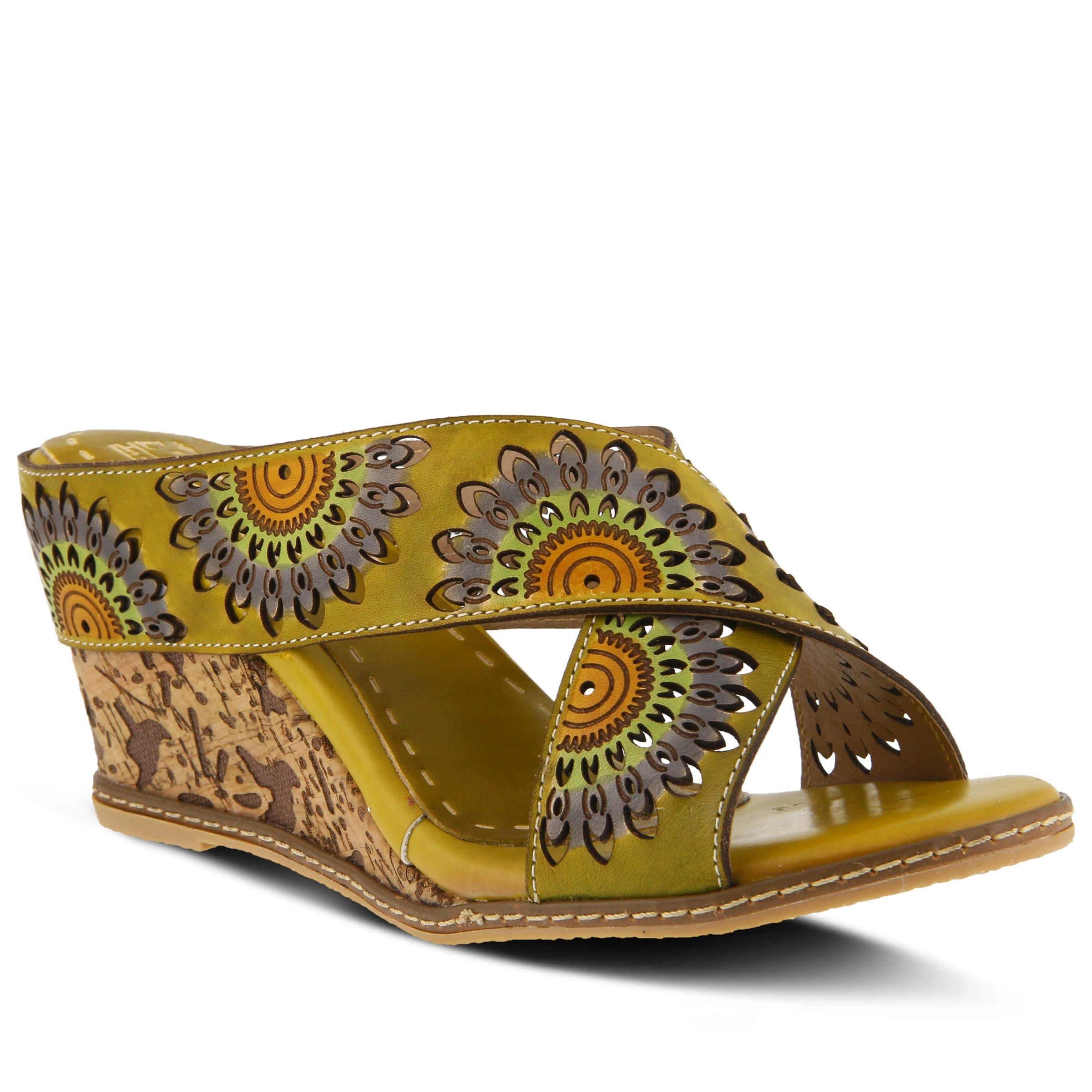 aa446953159c CAMEL ENTICING SANDAL by L'ARTISTE – Spring Step Shoes